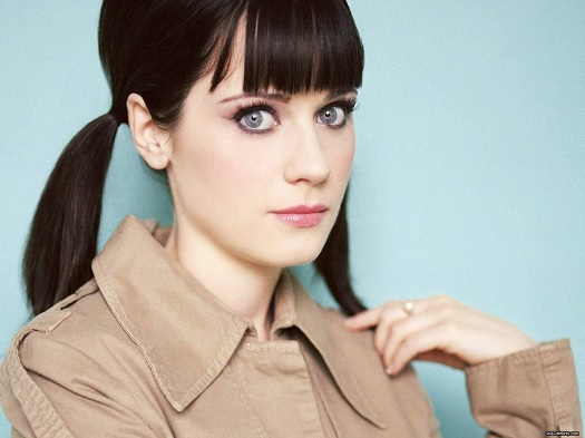 Zooey Deschanel Vogue letter