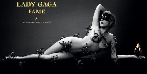 Lady Gaga Fame Perfume Advert