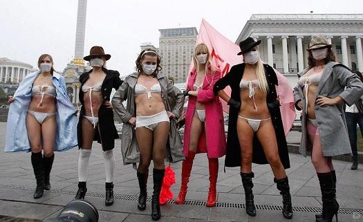 femen activists