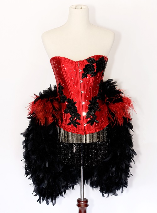 Burlesque Showgirl Outfits