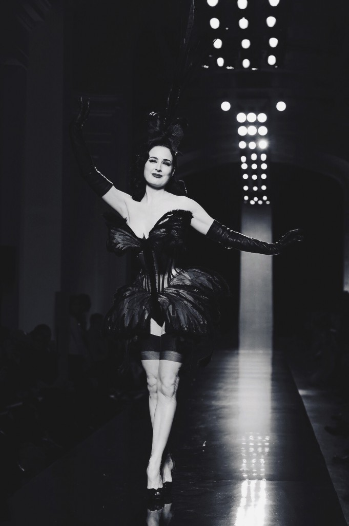 Dita Von Teese Jean Paul Gaultier