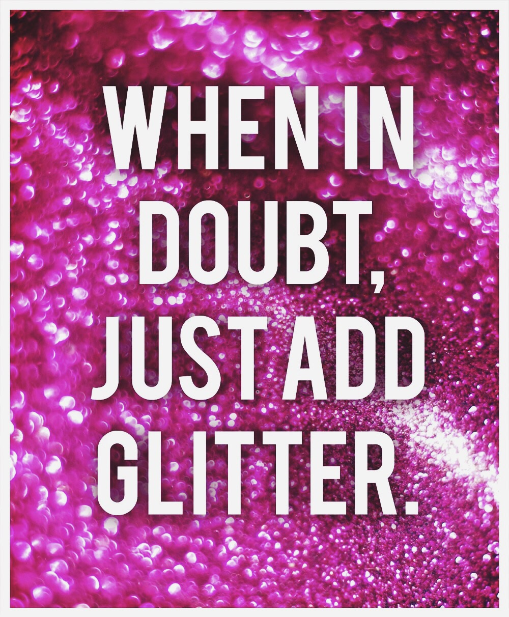 How to Glitter